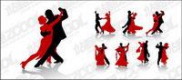 Vector Material Tanz Zahlen in Bildern