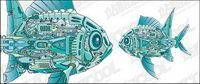 M¨¢quinas de vectores de peces material