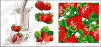 La leche de fresa y din¨¢mica de vectores materiales