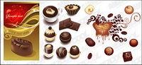 Capacit�� de chocolat vecteur mat��riel