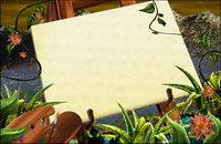 Gr��ne Pflanzen Sketchpad rattan