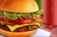 Alimentation - hamburgers