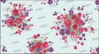 Koreanisch Mode wunderschöne Muster Serie -12 Rose und Schmetterling
