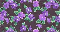 Aquarell-Effekt Blumen - Violet psd Materials