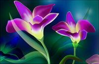 Super ultra-claire le th��me des fleurs-2