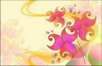 Super-ultra claro tema de flores-7