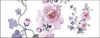 Fleurs peintes �� la main en couche mat��riel psd-11