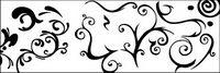 Vector f��r Schwarz-Weiß-Muster