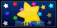 Super cute Cartoon Reihe von Computer-Sterne-Symbol transparente PNG