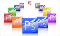 Adobe CS3 hermosa serie de ordenador icono png