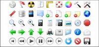 Attraktive und praktische kleine transparente PNG-Symbol in der Symbolleiste