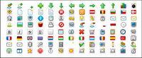 Sofisticado diseño web icono pequeño material utilizado png