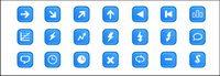 Web Design commun icônes png