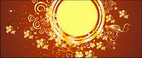 Gold gorgeous patterns Vector-9