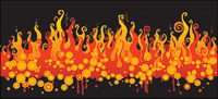 Vector Material Feuer