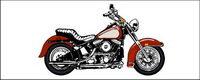 Cool Motorrad Vektor Material
