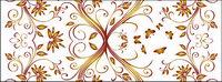 Vector wunderschöne Muster Hintergrundmaterial