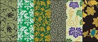 Vector traditionellen Bild-Serie 7-Hintergrund-Muster