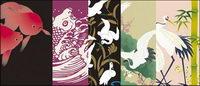 Vector traditionellen Bild-Serie 8-Tiere