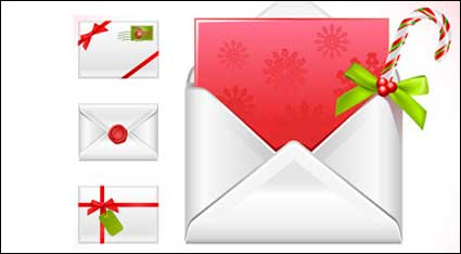Link toChristmas message vector material