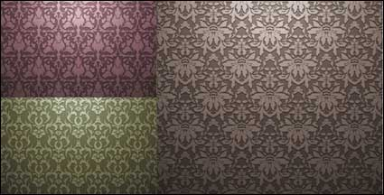 Link toEuropean-style tiled background pattern vector material