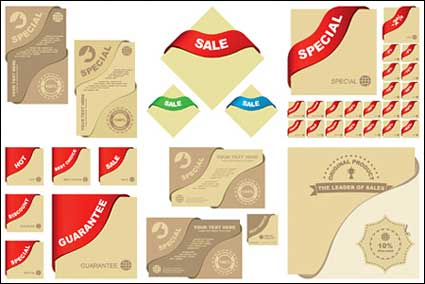 Link toVector graphic elements related material sales