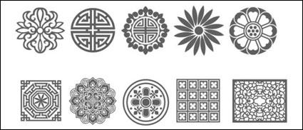 Traditional China Patterns china vector,vector with the traditional chinese wind,vector