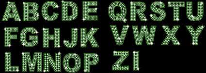 Link toDiamond english and digital vector material (green)