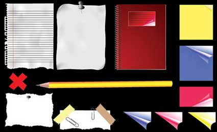 Link toStationery vector material