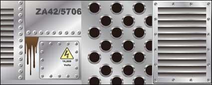 Link toMetal plate series vector material