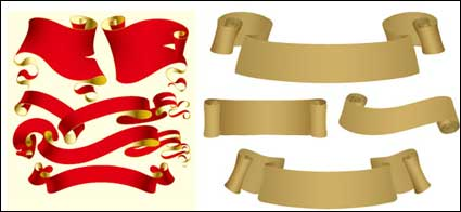 Link toVector ribbon and paper material