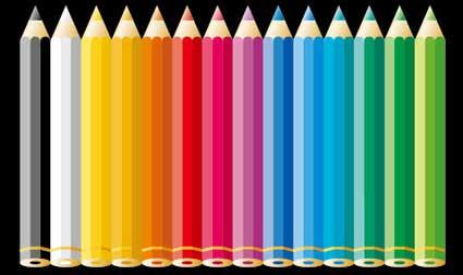 Link toColor pencil vector material