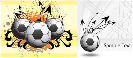 Link toFootball theme king vector material