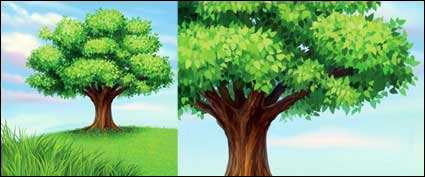 Link toA tree vector material