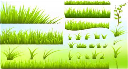 Link toGreen grass vector material