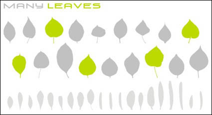 Link toVariety of leaves vector