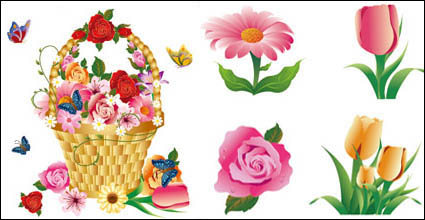 Link toFlower series vector material