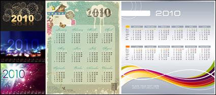 Link to5 vector 2010 calendar