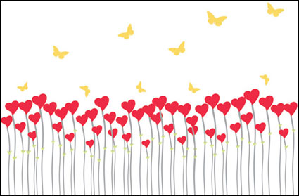 Link toLove the butterfly-shaped vector material can be