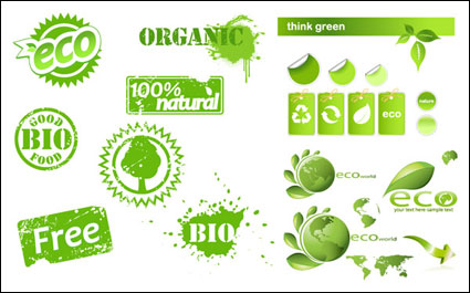 Link toSome eco theme icon vector material