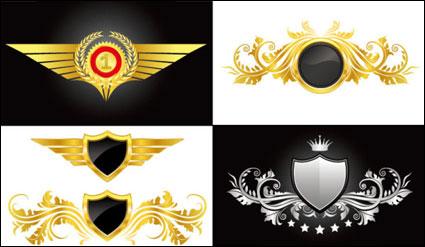 Link toPattern grain vector wings. shield