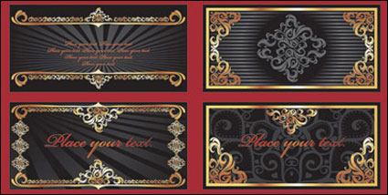 Link toAureate luxuriant lace vector of material