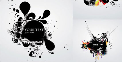 Link toVector background of the ink flow dynamic