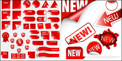 Link toDiscount sale of decorative icon vector material