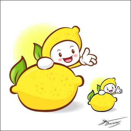 Link toLove the cartoon super fruit vector 7