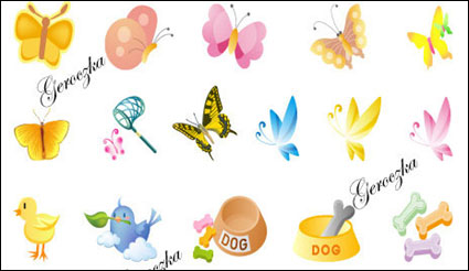 Link toLovely cartoon icon vector of material