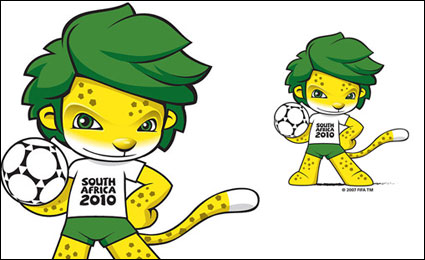 Vector 2010 World Cup mascot