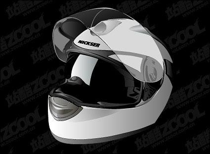 Link toRealistic motorcycle helmet vector