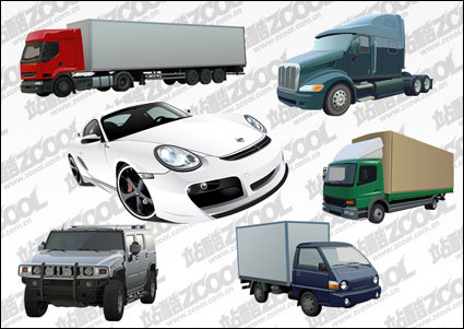 Link to6 car vector material