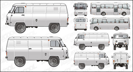 Link toPassenger cars and commercial vehicles vector material